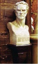 Memorial bust, Westminster Abbey