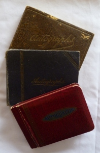 20th century Australian autograph albums