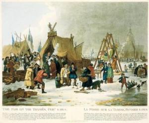 Frost Fair, Luke Clenell, 1814