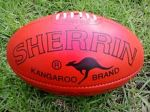 The Sherrin Australian Rules football