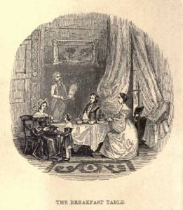 Frontispiece. Little Derwent's Breakfast.