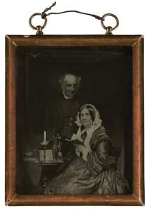 Derwent and Mary Coleridge. Unknown photographer, 1856. NPG P322 © National Portrait Gallery, London.