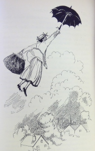 mary poppins floats away